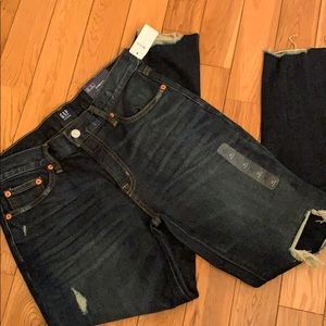 GAP Best Girlfriend Dark Wash Jeans